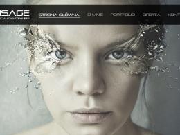 Strona WWW: Visage