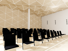 Wnętrze sali audiowizualnej