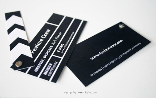 clapper-board-business-card